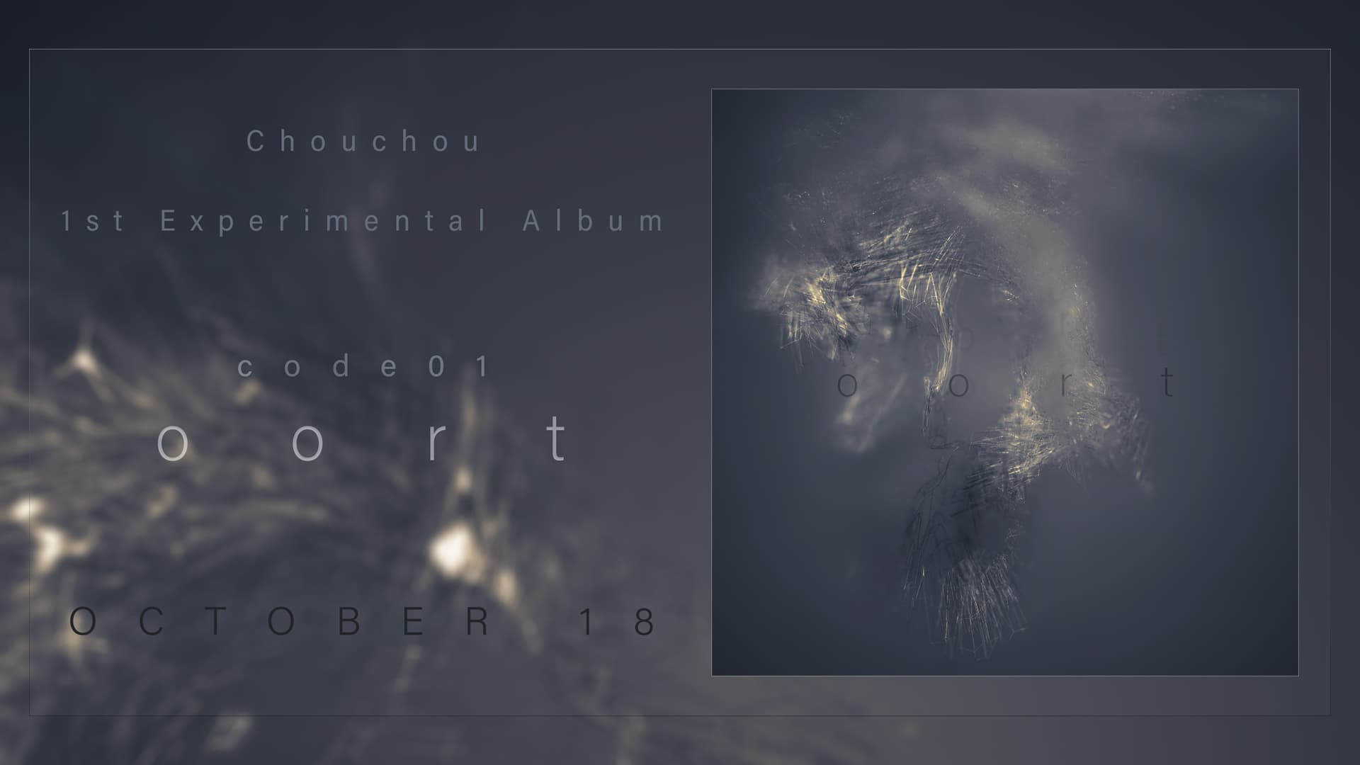 "Chouchou new album ""code01 oort"" out Aug 18"